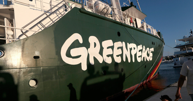 "September 15 - Birthday ""Greenpeace"""